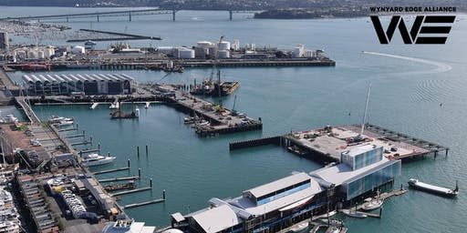 PIANC NZ YP tour of the America's Cup Infrastructure Project