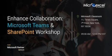 Workshop on Expanding collaboration with Microsoft Teams and SharePoint tickets
