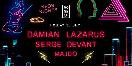 Boneca Neon Nights with Damian Lazarus , Serge Devant & Majdo