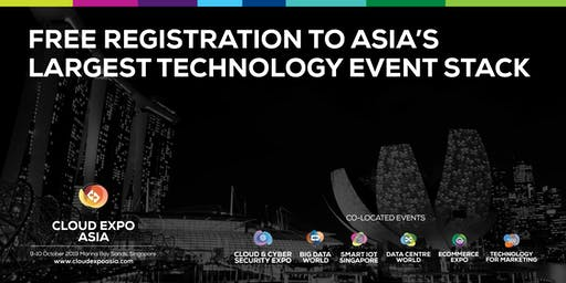 Cloud Expo Asia, Singapore 2019