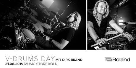 V-Drums Day mit Dirk Brand Tickets