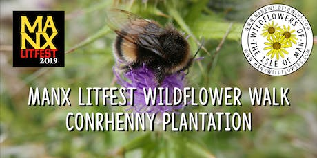 Manx Litfest Wildflower Walk tickets