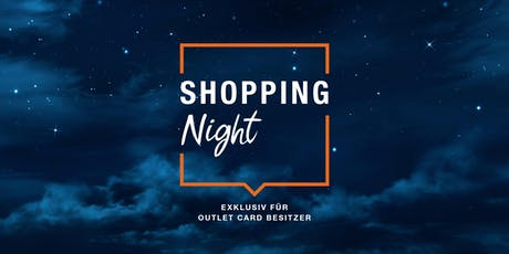 Zalando Outlet Shopping Night Münster Tickets
