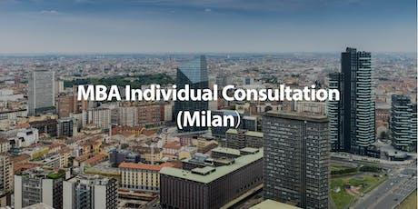 CUHK MBA Individual Consultation in Milan biglietti