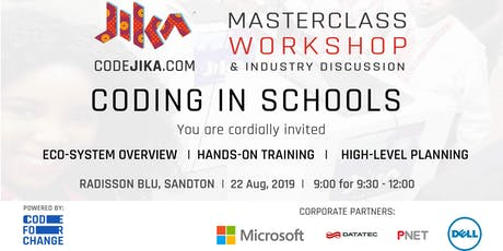 "CodeJIKA ""Coding in Schools"" Masterclass & Workshop tickets"