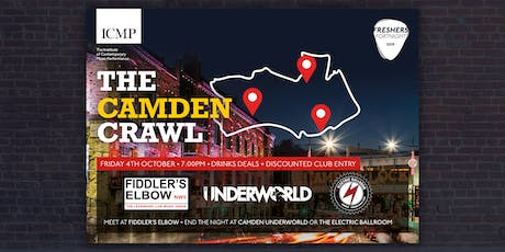 ICMP Camden Crawl tickets