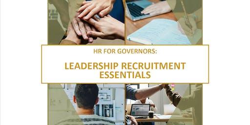HR for Governors: Leadership Recruitment Essentials