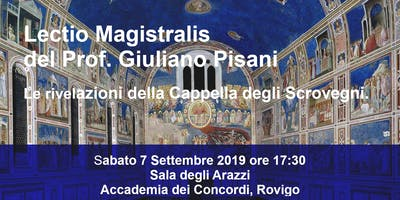 Lectio Magistralis di Giuliano Pisani. Giotto e la ******** degli Scrovegni