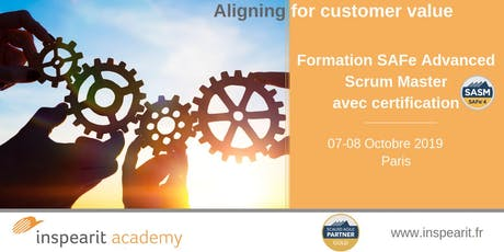 Formation SAFe  Advanced Scrum Master billets