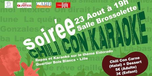 Soirée CHILI CON Karaoké