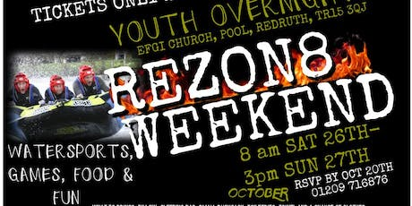 REZON8 Youth Weekend tickets