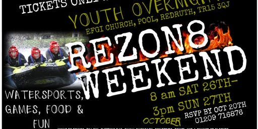 REZON8 Youth Weekend