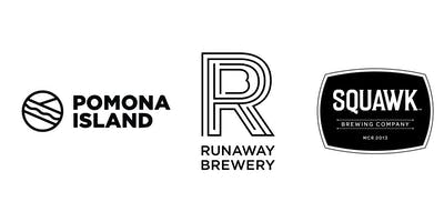 Three-way Tap Takeover! Pomona Island, Runaway, Squawk & Honest Crust!