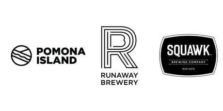 Three-way Tap Takeover! Pomona Island, Runaway, Squawk & Honest Crust! tickets