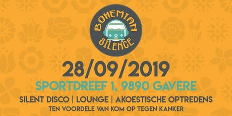 Bohemian Silence 2019 billets