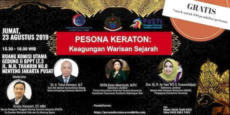 PESONA KERATON: KEAGUNGAN WARISAN SEJARAH tickets