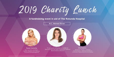 2019  Charity Lunch tickets