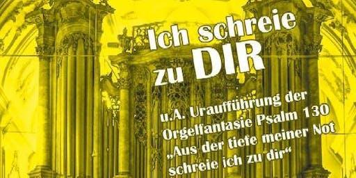 Ich schreie - Abschlusskonzert des Lindauer Orgelsommer