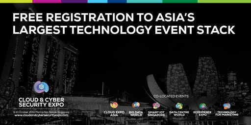 Cloud & Cyber Security Expo, Singapore 2019