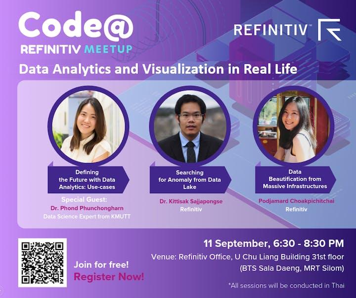 Code@Refinitiv: Women In Technology - Data Analytics in Real