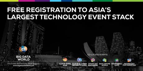 Big Data World, Singapore 2019 tickets