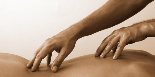 Atelier d'initiation au massage du dos