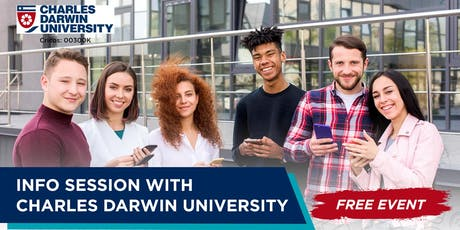 Info Session with Charles Darwin University (Scholarship up to 50%) tickets