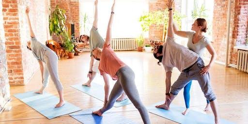 Hatha Yoga kostenloser Schnupperkurs mit Katharina