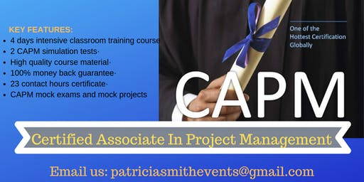 CAPM Classroom Training Course in Eugene, OR