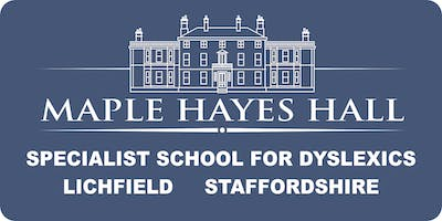Copy of Open morning for parents of Key Stage 2 (Primary) and Year 7 dyslexics.