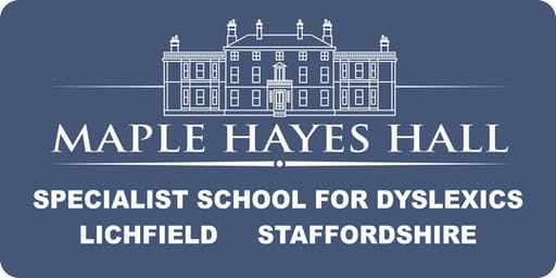 2019 Open morning for parents of Key Stage 2 (Primary) and Year 7 dyslexics.