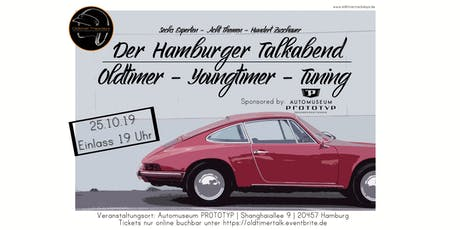 Talkabend im Automuseum PROTOTYP : Oldtimer, Youngtimer & Tuning Tickets