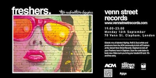 ACM London Freshers Presents: HipHop/RnB/Soul
