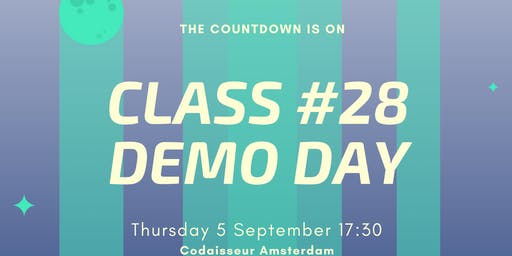 Codaisseur Graduation and Demo Night - Class #28