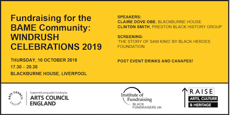 Fundraising for the BAME Community: Windrush celebrations 2019 tickets