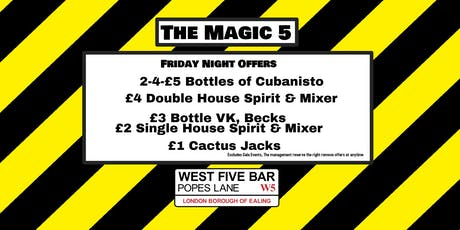 The Magic 5 with Lola Lasagne tickets
