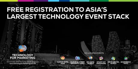 Technology for Marketing Asia tickets