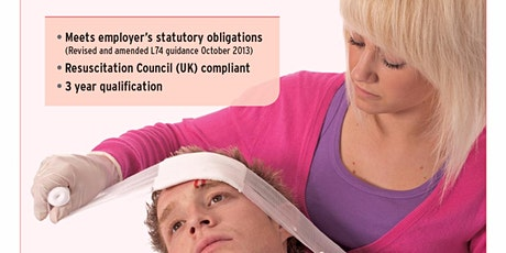 Level 3 First Aid at Work Course tickets