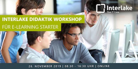 Interlake Didaktik Workshop für E-Learning Starter Tickets