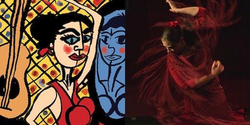 España El Vito, The Spirit of Spain Guitarist Matthew Fagan & Flamenco Dancer,  Laura Uhe - Coolart Wetlands Somers