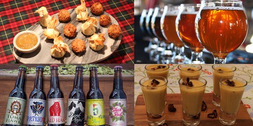 Five Course Tasting Menu and Craft Beer Pairing