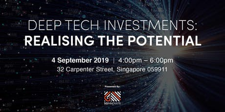 Deep Tech Investments: Realising the Potential tickets