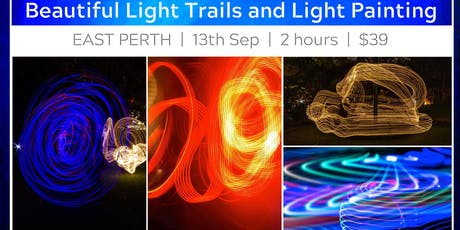Light Trails and Light Painting at East Perth tickets