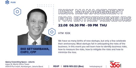 Risk Management for Entrepreneurs tickets