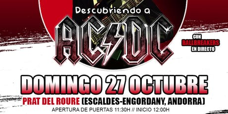 Descubriendo a AC/DC en Andorra tickets