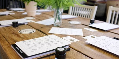 Mother's Day Beginners Modern Calligraphy Class
