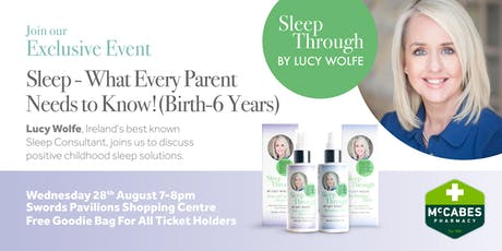Lucy Wolfe - Sleep What Every Parent Needs To Know. tickets