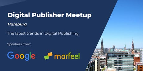 Digtial Publisher Meetup: Hamburg edition tickets
