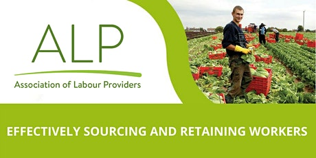Effectively Sourcing and Retaining Workers Workshop - Borough Green, Kent 13/02/2020  tickets