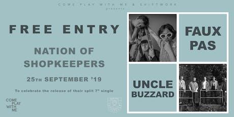 Faux Pas & Uncle Buzzard tickets